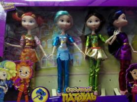 Сказочный Патруль, набор из 4-х кукол