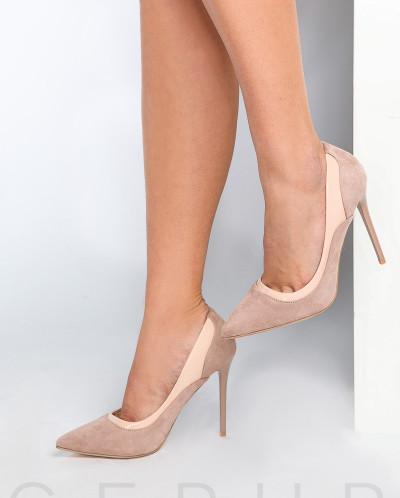 Базовые замшевые туфли