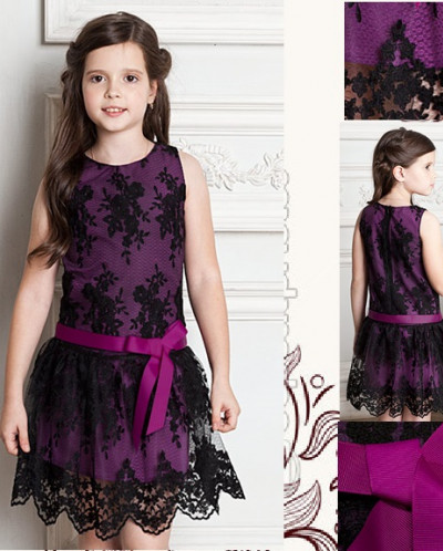 Кружевное платье для настоящей леди