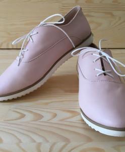 Кожаные туфли в спортивном стиле. От 34 размера!