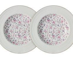 Набор из 2-х суповых тарелок Стиль Colombo, Китай Костяной ф
