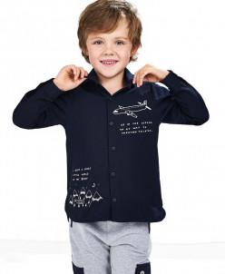 Рубашка с принтом для мальчика