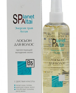 """Лосьон для волос препятствующий выпадению """"Planet SPA ALTAI"""""""