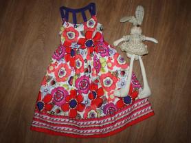 Красивое,яркое платье на 10 лет,пышненькое,состоян