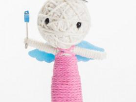 Анжела - кукла, талисман, ручная работа