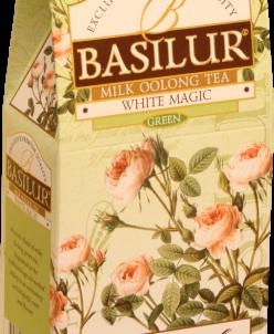"""Чай Basilur БУКЕТ """"Белое волшебство"""" 100г  картон."""