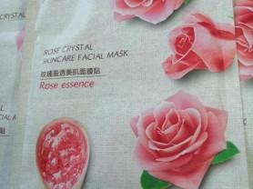 Маска для лица с экстрактом розы и клубники