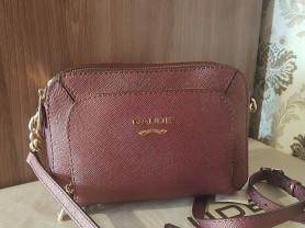 Новая стильная сумка из сафьяновой кожи Италия