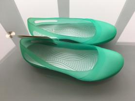 Новые Балетки туфли Crocs Carlie Slingback Flat Ор