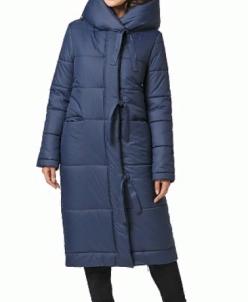 """Пальто """"Нерис"""" Артикул: 18425 т синий"""