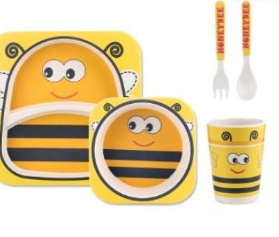 Набор детской посуды 5 предметов Пчелка