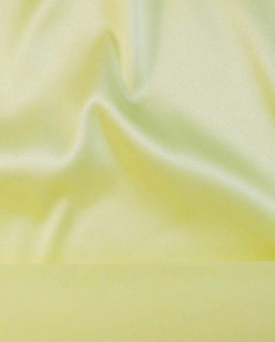 Вискозный атлас волшебно-желтого цвета