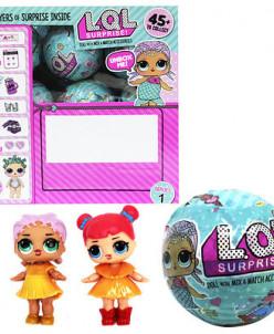 Кукла-сюрприз в шаре (набор из восемнадцати шариков)