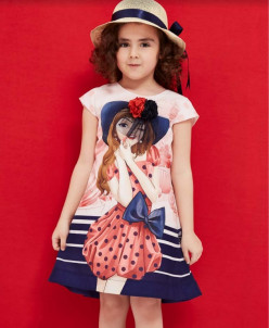 Комплект Платье и шляпа