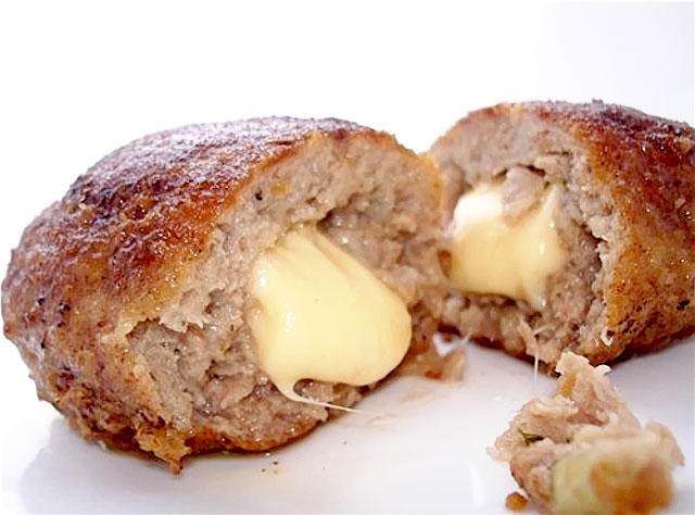 Зразы из куриного филе с сыром