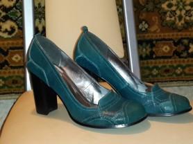 Новые туфли. Кожа. Неординарный цвет.(36-37р)