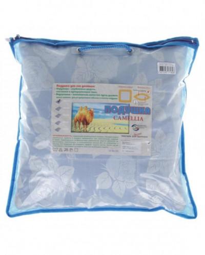 Подушка стеганная Cаmellia 40*40 см, верблюжья шерсть, лузга