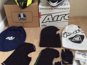 Шлем AGV -размер S, шлем Airoh -размер XS