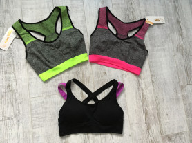 Спортивные топы для фитнеса/йоги