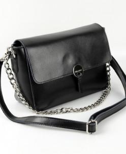 Женская кожаная сумка 1033 Черный