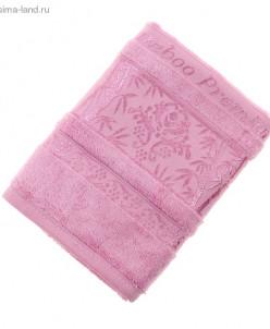 Полотенца махровое Rose Premium E482 50*90 см розовый бамбук