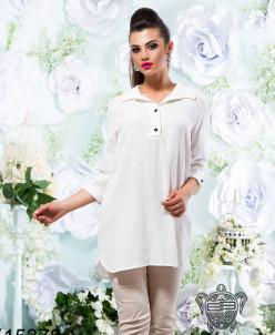 Блуза из льна - 15378