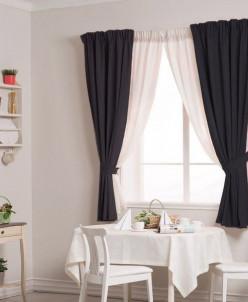 Артикул 6008  Плотные шторы для кухни