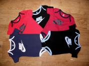 Боди Nike из США красный и черный на 6-9 мес.