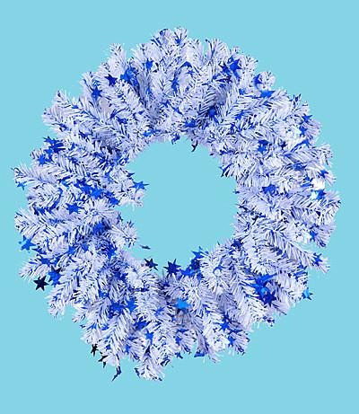 """Венок """"Новогодний-3"""", диаметр 0,35 м."""
