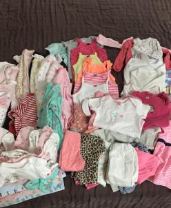 Вещи на девочку до 1 года