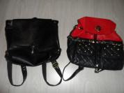 Женские рюкзаки кожа и экокожа б/у недолго