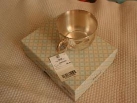 Чашка серебро 925