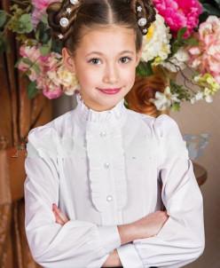 блузка Агата -Д, белая
