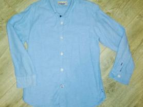 Рубашка детская стильная фирма Zara, р. 128 в отли