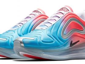 кроссовки с градиентом Nike air 720