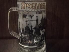 Росписная пивная кружка, Ярославль