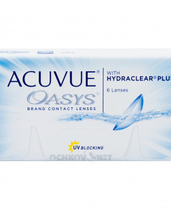 Acuvue Oasys with Hydraclear Plus 24 линз (упаковка)