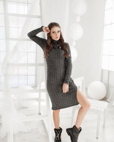 Платье с брошкой Шанель №01340