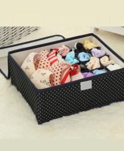 Ящик для белья 16 ячеек Simple Коричневый