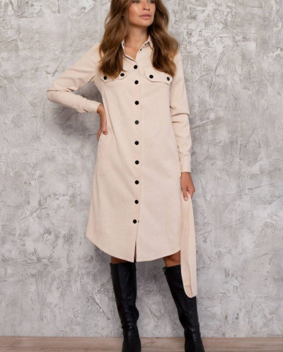 Платье - Рубашка 3027-c03 от Nenka