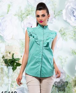 Блуза с рюшами - 15410