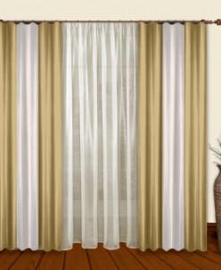 Артикул 5792  Комбинированные шторы Лидер  (ш 1,8м Х в 2,8м)