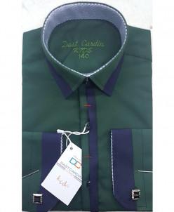 Рубашка для мальчика, Dast Cardin, арт.1102, темно-зеленый