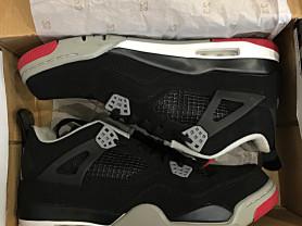 """Новые Nike Air Jordan Retro IV """"Bred"""""""