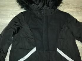 Куртка - парка, пуховик с капюшоном, р. 44-46 , ук