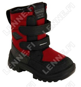 Зимние ботинки на липучках Crosser Black Kuoma