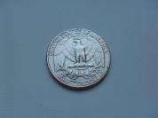 Монета 25 Центов 1988 год США