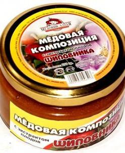 Алтайский Мёд с шиповником