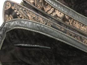 Эксклюзивная Куртка из натуральной кожи и меха