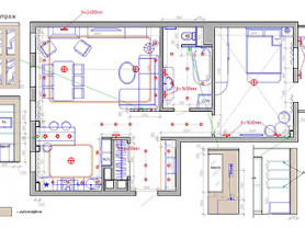Дизайн интерьера, проектирование домов